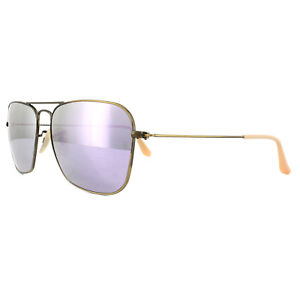 7f4a97bd510 Ray-Ban Sunglasses Caravan 3136 167 4K Bronze Copper Lilac Mirror ...