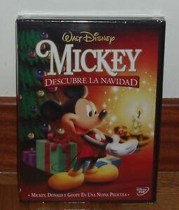 MICKEY-DESCUBRE-LA-NAVIDAD-DISNEY-DVD-PRECINTADO-NUEVO-ANIMACIoN-SIN-ABRIR-R2