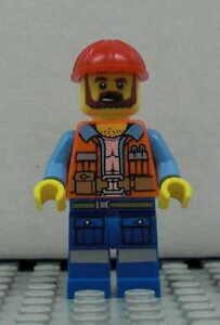 LEGO-The-Movie-Vormann-Frank-Figur-Minifig-Bauarbeiter-Foreman-70807