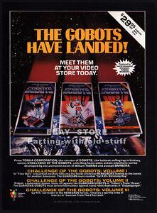 Challenge-of-the-GOBOTS-Original-1985-video-print-AD-advert-TV-series-promo