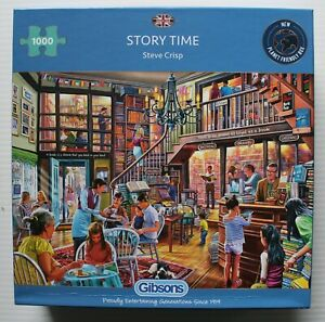 Gibson 1000 Piece Jigsaw Puzzle Story Time