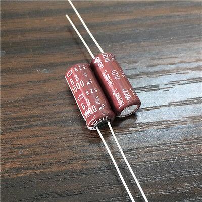 10pcs 1500uF 6.3V 8x20mm NCC KZG Super Low ESR 6.3V1500uF Motherboard Capacitor