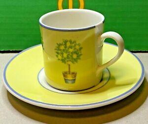 Royal-Doulton-Carmina-Porcelain-China-Coffee-Espresso-Cup-amp-Saucer-T-C-1277