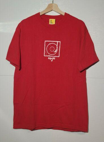 Vintage enjoi Skateboards Red Tshirt RARE 90s Spor