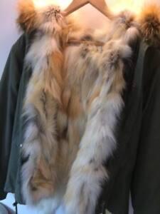 18924ace633 Mr   Mrs Lady Parka Full Fur lined UK brand Fox UK 42