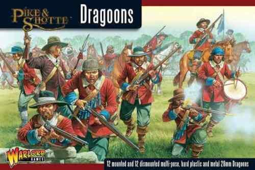 WARLORD GAMES BNIB DRAGOONS PIKE /& SHOTTE SENT FIRST CLASS