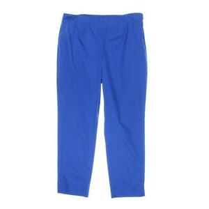 Charter-Club-Women-039-s-Classic-Fit-Tummy-Slimming-Ankle-Pants-Blue-Sz-8-6412-1