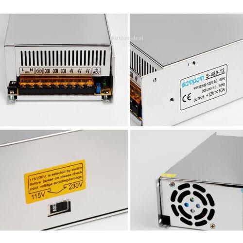 AC 110-220V TO DC 5V 12V 24V Switch Power Supply Drive Adapter LED Strip Lights