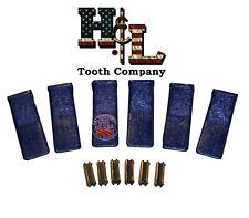 230sp Hampl Tooth Original Backhoe Bucket Teeth 6 Pack Usa Forged 23fp Flexpins