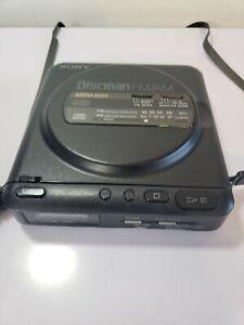 Sony-D-T24-Discman-FM-AM-Walkman-vintage-For-Parts-Or-Fix