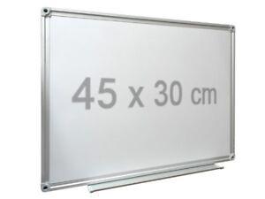 Whiteboard Magnettafel Präsentations Tafel Schreibtafel Memoboard 45x30 cm WB01