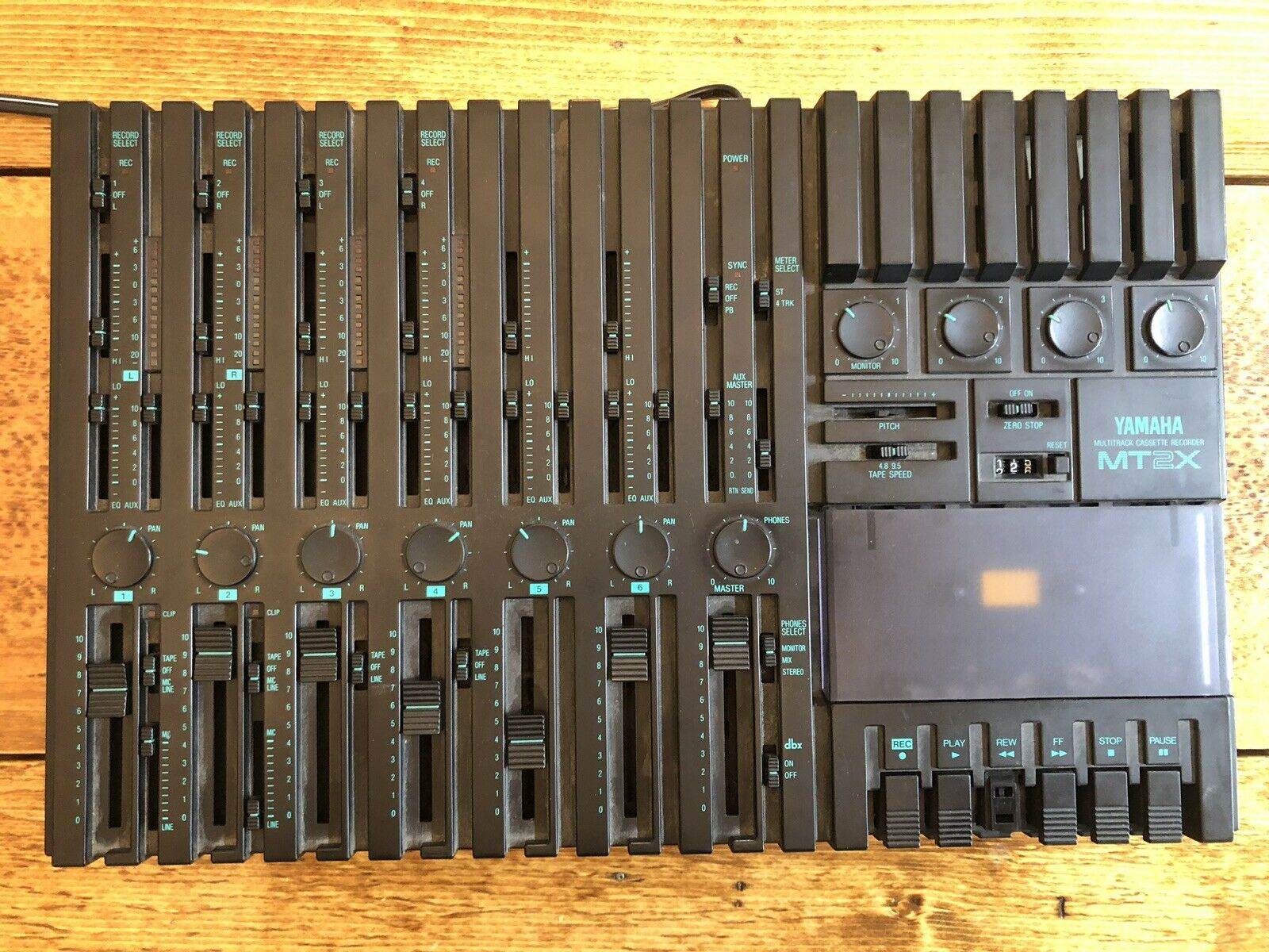Vintage Multitrack Kassettenrekorder--Yamaha MT2X Working But Needs Repair