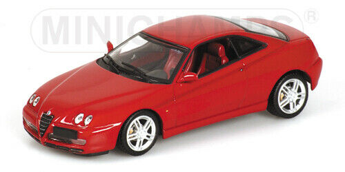 red Minichamps 1:43 Alfa GTV 2003