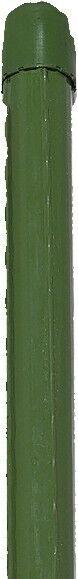 Brema Tutores Barras de Siembra verde 17mm X 2400mm Soporte para Plantas Jardín