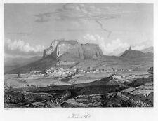 Korinth, Griechenland, Original-Stahlstich von ca. 1860