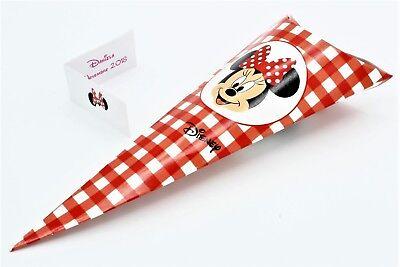 Intelligente N 20 Scatola Bomboniera Forma Cono Portaconfetti Disney Minnie Made In Italy