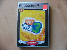 EyeToy: play 3 (Sony PlayStation 2, 2006, DVD-box)