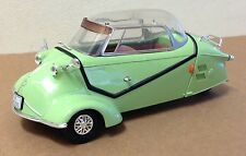 Revell AG Messerschmitt KR200 lime green 3 wheel car 1:18 excellent loose odd