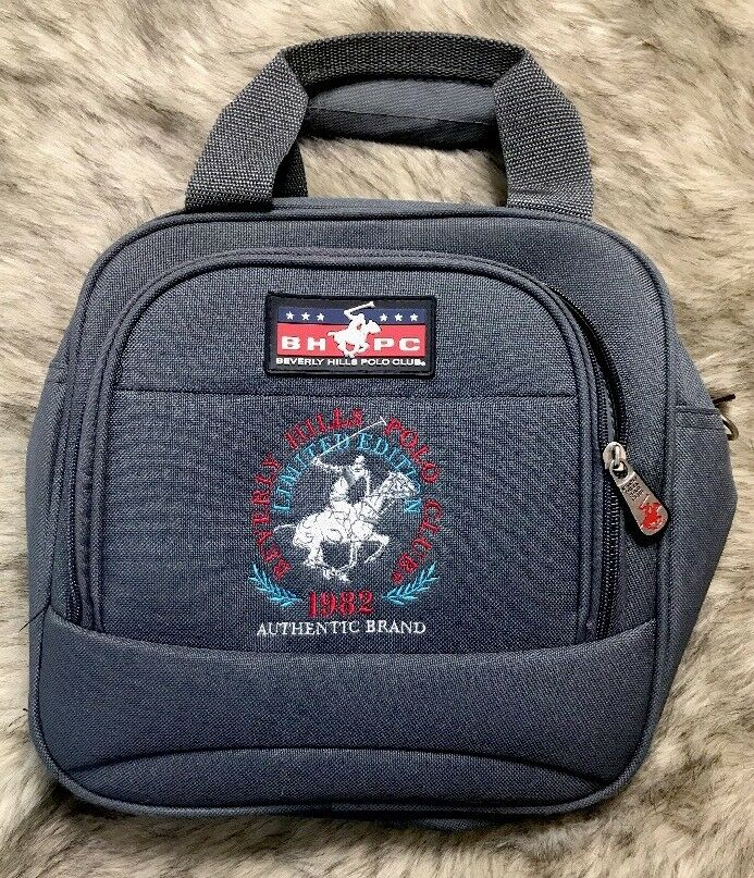 Beverly Hills Vintage Limited Edition Grau Polo Sports Bag Brand 1982 Authentic Brand Bag 755011