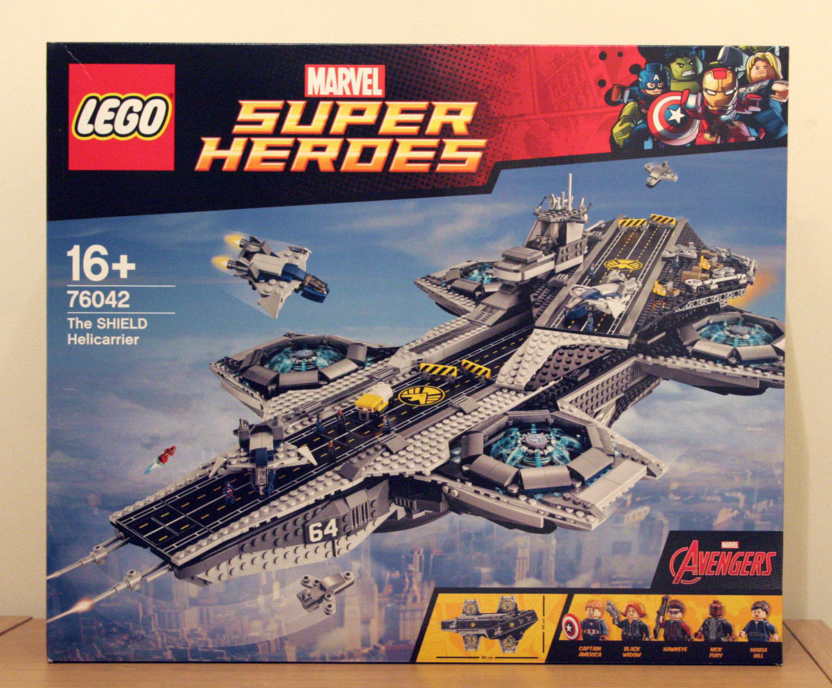 MARVEL Avengers The Shield Helicarrier LEGO 76042 UCS-Nuovo con Scatola in pensione