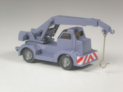 Wiking Sondermodell Demag Mobilkran in Sonderfarbe graublau Klasse