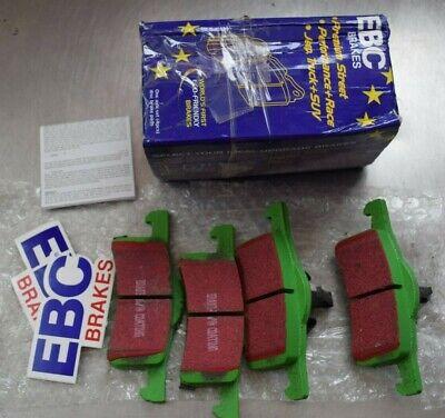REAR EBC DP21066 GREENSTUFF STREET ORGANIC BRAKE PADS