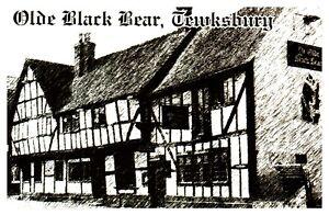 Postcard-OLDE-BLACK-BEAR-TEWKESBURY-Ref-D12