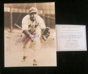 Signed-8x10-photo-of-Luke-Appling-d-039-91-Chicago-White-Sox-Hall-of-Fame