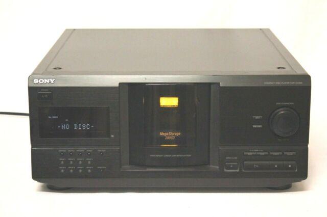 SONY CDP-CX220 Mega Storage 200 Disc CD Changer Player Home Jukebox Storage
