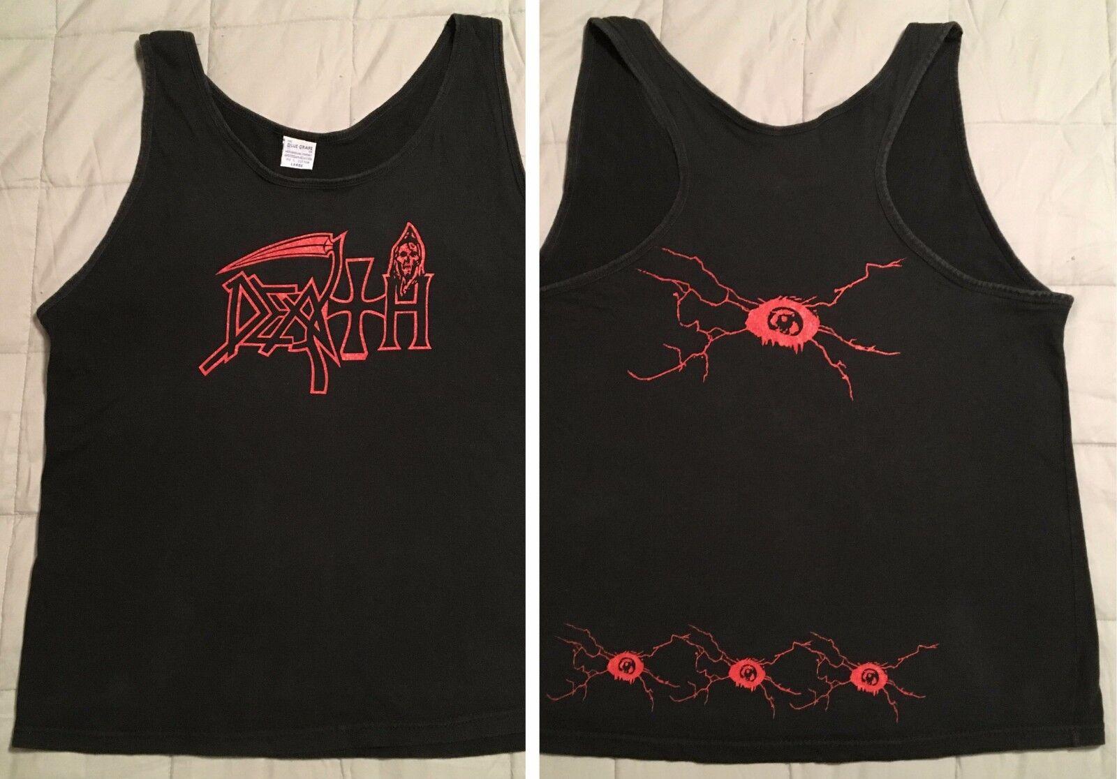 DEATH Rare 1995 Vtg Tank Top Symbolic Tour T-Shirt Chuck Schuldiner cynic metal