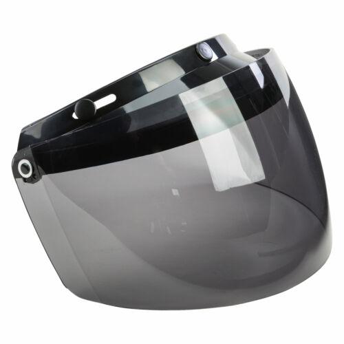 GMAX GM2//GM5//GM22 3-Snap Flip Up Shield Smoke