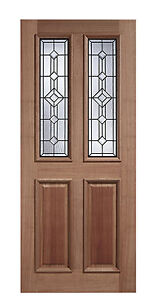 Hardwood Derby Exterior External Lead Double Glazed Door