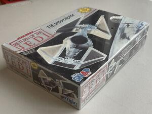 NEW-1990-Return-of-the-JEDI-034-STAR-WARS-Tie-Interceptor-MPC-Model-Kit-034