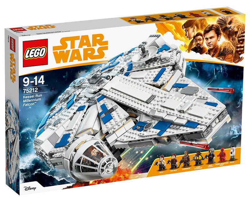 LEGO Star Wars Han Solo Le Faucon Millenium du Raid de Kessel 75212 Construction