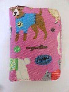 Pink BN PET DOG PRINT PRETTY Small Purse