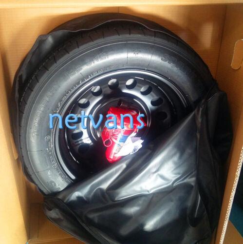"""kit rueda de repuesto galleta 17/""""para LAND ROVER EVOQUE con gato llave y bolsa"""