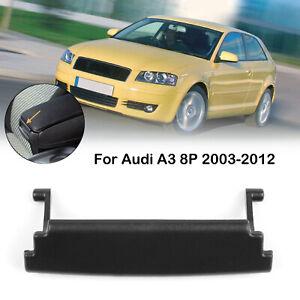 Black-Armrest-Center-Console-Cover-Lid-Latch-Clip-For-Audi-A3-8P-2003-2012
