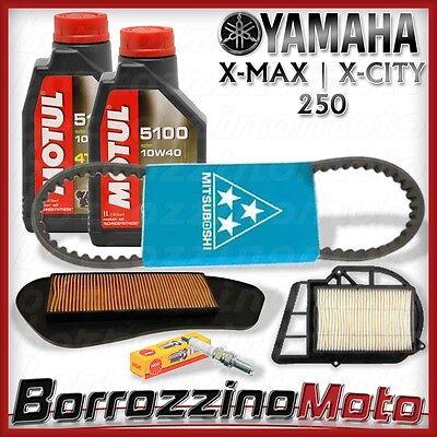 KIT TAGLIANDO COMPLETO + CINGHIA MITSUBOSHI YAMAHA X-MAX X-CITY XMAX XCITY 250