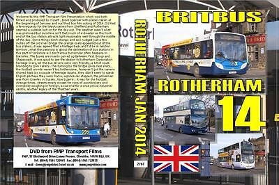 2787. Rotherham. UK. Buses. January 2014. Mainly First Group an update on  the w