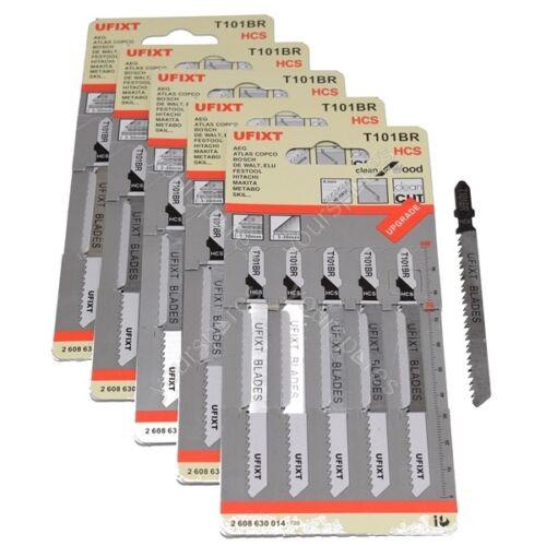 stratifié /& Work Tops Lames de scie sauteuse T101BR Lot de 25 Reverse Cut pour bois