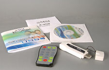 TV-Stick USB MSI K-VOX mit Fernbedienung und CD Tuner DVB-Radio Magix