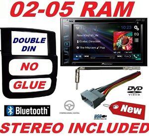 02 03 04 05 ram pioneer dvd car stereo radio double din. Black Bedroom Furniture Sets. Home Design Ideas