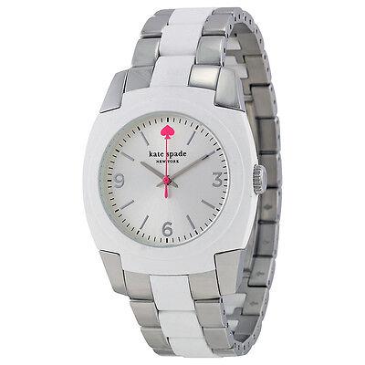 Kate Spade Skyline Silver Dial Stainless Steel Ladies Watch 1YRU0165