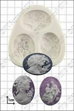 Silicone mould Large Cameos | Food Use FPC Sugarcraft FREE UK shipping!
