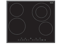 Baumatic Bcc600 4 Burner Electric Touch Control Cooktop