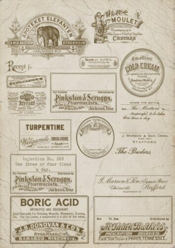 Decoupage-Serviettentechnik-Softpapier-Vintage-Nostalgie-Retro-12045