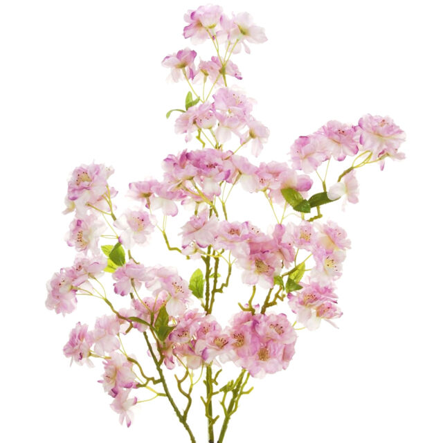 Artificial Cherry Blossom Tree Branch - Pink - Decorative Blossom Flowers