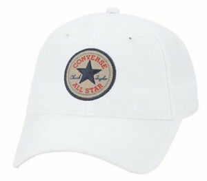 e08087d31bef4 Details about CONVERSE NEW White Classic Twill Cap BNWT
