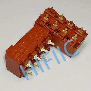 1PCS/5PCS DEFOND ASH-2316 16A 125VAC 8A 250VAC 7 Pins 3 Positions Slide Switch
