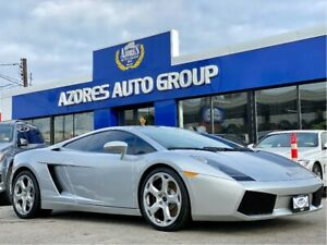 2004 Lamborghini Gallardo Accident Free Clean Carfax|Only 26,494km|Nav|520hp
